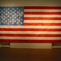American Flag on Wall